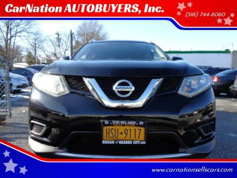 2015 Nissan Rogue for sale at CarNation AUTOBUYERS, Inc. in Rockville Centre NY