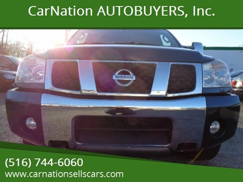 2004 Nissan Titan for sale at CarNation AUTOBUYERS, Inc. in Rockville Centre NY