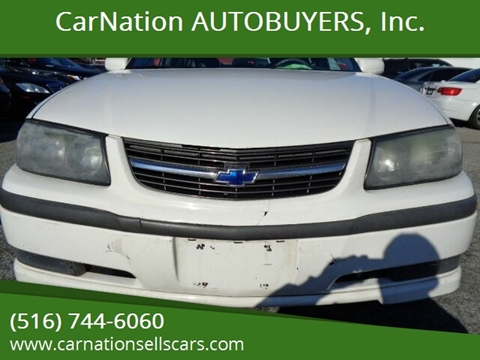 2003 Chevrolet Impala for sale at CarNation AUTOBUYERS, Inc. in Rockville Centre NY
