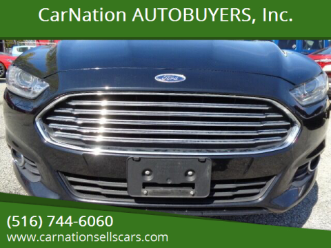 2016 Ford Fusion for sale at CarNation AUTOBUYERS, Inc. in Rockville Centre NY