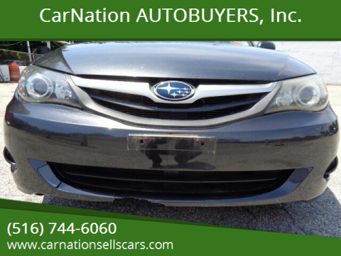 2011 Subaru Impreza for sale at CarNation AUTOBUYERS, Inc. in Rockville Centre NY