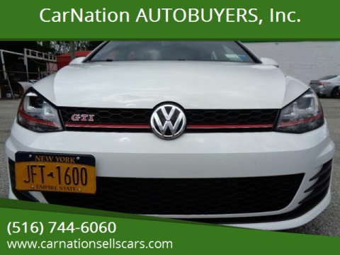 2017 Volkswagen Golf GTI for sale at CarNation AUTOBUYERS, Inc. in Rockville Centre NY