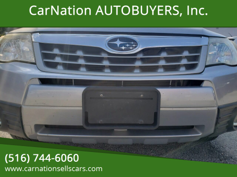 2012 Subaru Forester for sale at CarNation AUTOBUYERS, Inc. in Rockville Centre NY