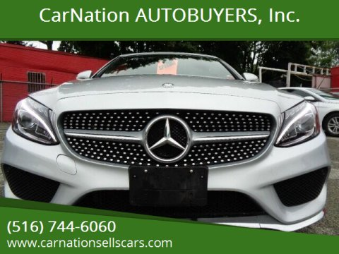 2017 Mercedes-Benz C-Class for sale at CarNation AUTOBUYERS, Inc. in Rockville Centre NY