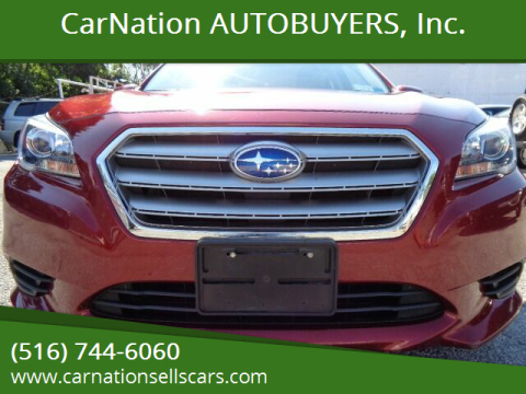 2015 Subaru Legacy for sale at CarNation AUTOBUYERS, Inc. in Rockville Centre NY