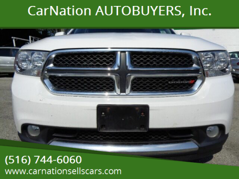2013 Dodge Durango for sale at CarNation AUTOBUYERS, Inc. in Rockville Centre NY