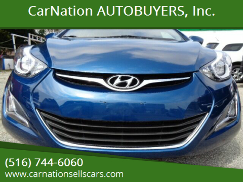 2015 Hyundai Elantra for sale at CarNation AUTOBUYERS, Inc. in Rockville Centre NY