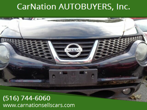 2012 Nissan JUKE for sale at CarNation AUTOBUYERS, Inc. in Rockville Centre NY