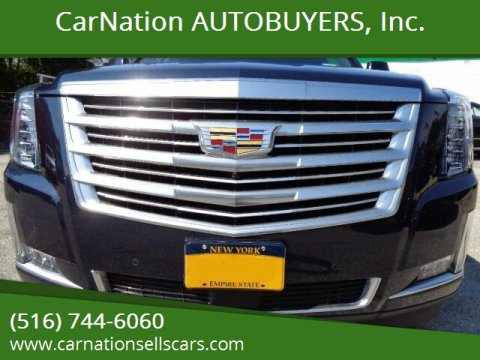 2017 Cadillac Escalade for sale at CarNation AUTOBUYERS, Inc. in Rockville Centre NY