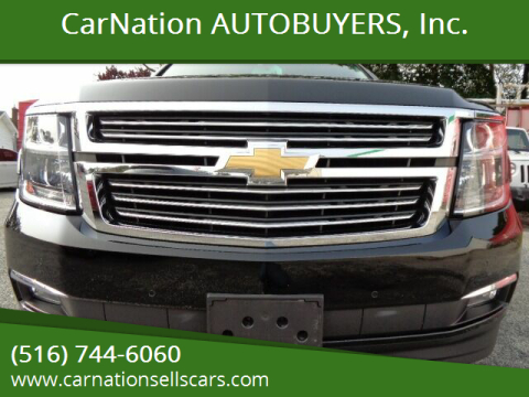 2017 Chevrolet Suburban for sale at CarNation AUTOBUYERS, Inc. in Rockville Centre NY