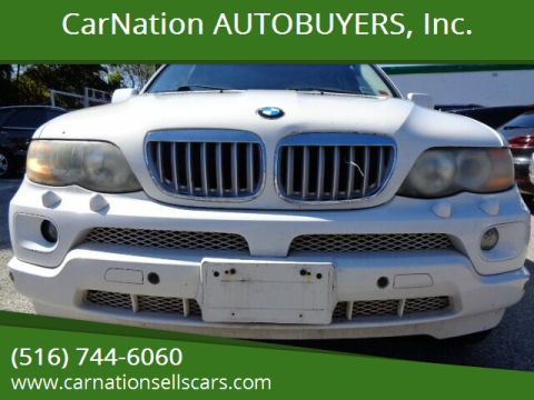 2004 BMW X5 for sale at CarNation AUTOBUYERS, Inc. in Rockville Centre NY