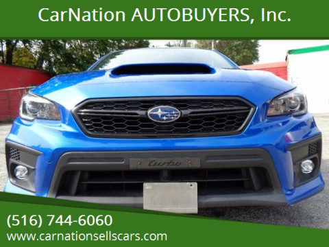 2018 Subaru WRX for sale at CarNation AUTOBUYERS, Inc. in Rockville Centre NY