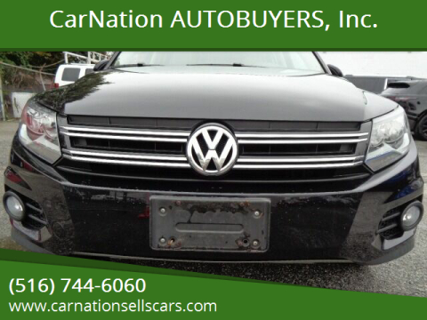 2012 Volkswagen Tiguan for sale at CarNation AUTOBUYERS, Inc. in Rockville Centre NY