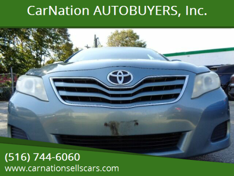 2010 Toyota Camry for sale at CarNation AUTOBUYERS, Inc. in Rockville Centre NY