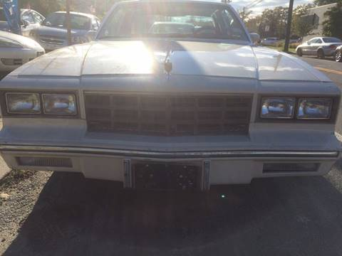 1983 Chevrolet Monte Carlo for sale at CarNation AUTOBUYERS Inc. in Rockville Centre NY