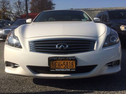 2012 Infiniti G37 Coupe for sale at CarNation AUTOBUYERS, Inc. in Rockville Centre NY