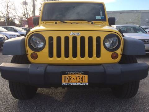 2008 Jeep Wrangler Unlimited for sale at CarNation AUTOBUYERS, Inc. in Rockville Centre NY