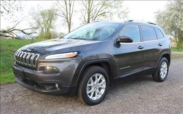 2015 Jeep Cherokee for sale in Lowell, IN