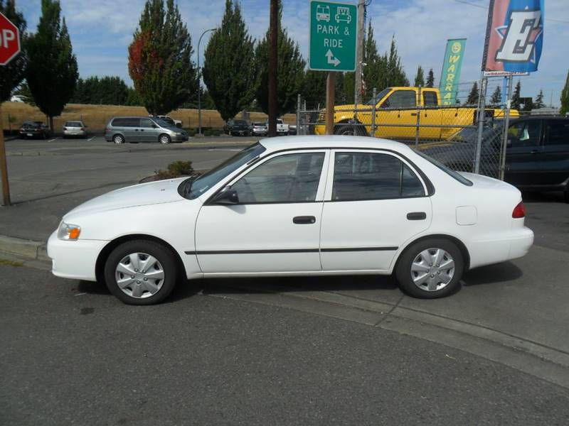 2002 Toyota Corolla For Sale At Car Link Auto Sales LLC In Marysville WA