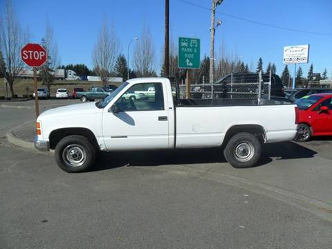 1998 GMC Sierra 2500 for sale in Marysville, WA
