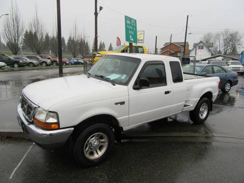 2000 Ford Ranger XLT for sale at Car Link Auto Sales LLC in Marysville WA