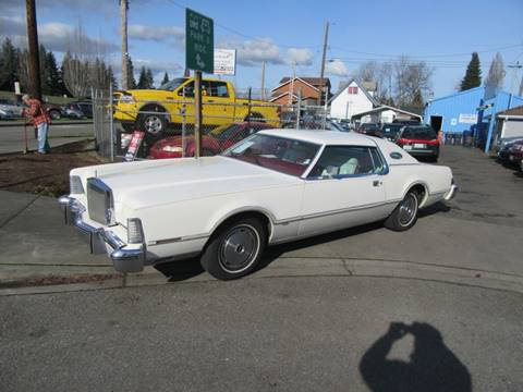 1975 Lincoln Mark IV for sale at Car Link Auto Sales LLC in Marysville WA
