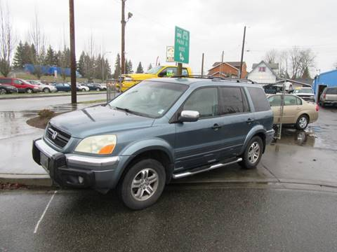 2005 Honda Pilot EX for sale at Car Link Auto Sales LLC in Marysville WA