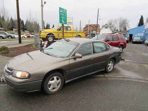 2003 Chevrolet Impala for sale at Car Link Auto Sales LLC in Marysville WA