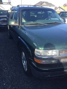 2001 Chevrolet Suburban for sale in Marysville, WA