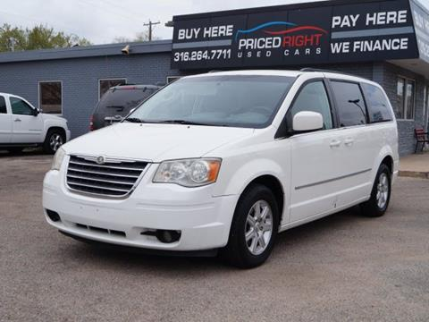 chrysler town and country for sale in wichita ks. Black Bedroom Furniture Sets. Home Design Ideas