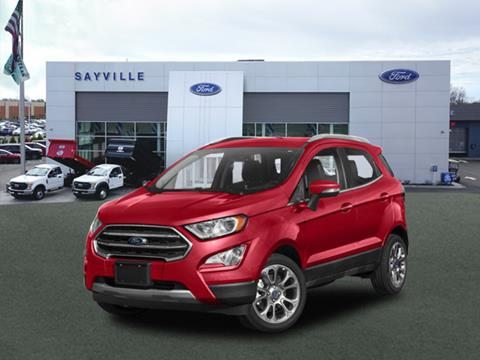 2019 Ford EcoSport for sale in Sayville, NY