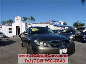 2007 Infiniti M45 for sale in Santa Ana, CA