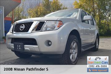 2008 Nissan Pathfinder for sale in Syracuse, NY