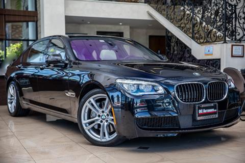 2014 BMW 7 Series for sale in Westminster, CA