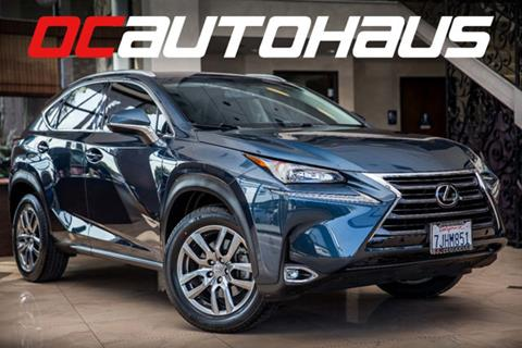 2015 Lexus NX 200t for sale in Westminster, CA