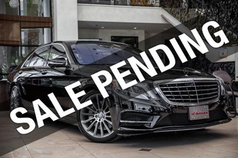 2015 Mercedes-Benz S-Class for sale in Westminster, CA