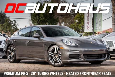2015 Porsche Panamera for sale in Westminster, CA