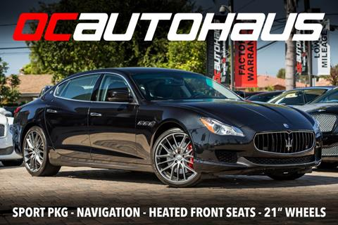 2016 Maserati Quattroporte for sale in Westminster, CA
