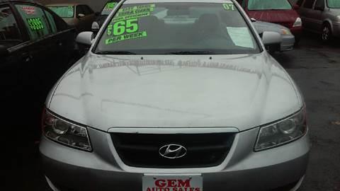 2007 Hyundai Sonata for sale in Irvington, NJ