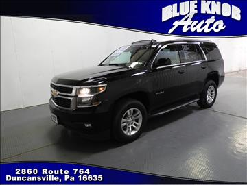 2015 Chevrolet Tahoe for sale in Duncansville, PA