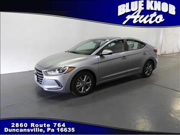 2017 Hyundai Elantra for sale in Duncansville, PA