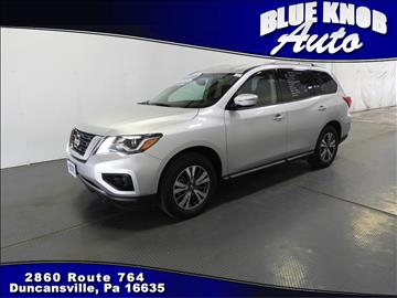 2017 Nissan Pathfinder for sale in Duncansville, PA