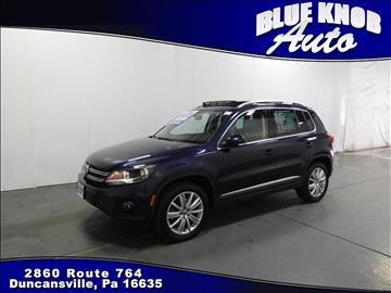 2015 Volkswagen Tiguan for sale in Duncansville, PA