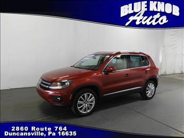 2014 Volkswagen Tiguan for sale in Duncansville, PA