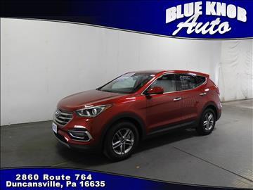 2017 Hyundai Santa Fe Sport for sale in Duncansville, PA