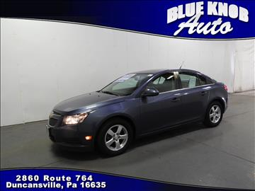 2014 Chevrolet Cruze for sale in Duncansville, PA