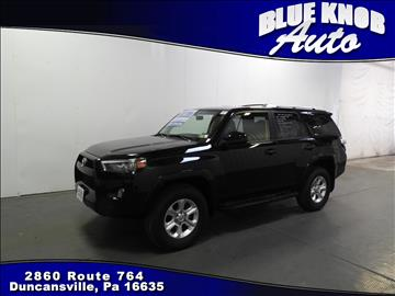 2016 Toyota 4Runner for sale in Duncansville, PA