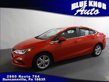 2016 Chevrolet Cruze for sale in Duncansville, PA