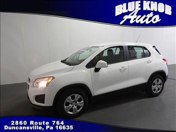 2016 Chevrolet Trax for sale in Duncansville, PA