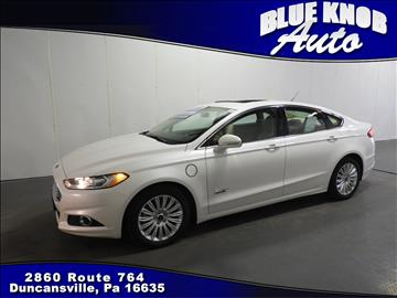 2016 Ford Fusion Energi for sale in Duncansville, PA